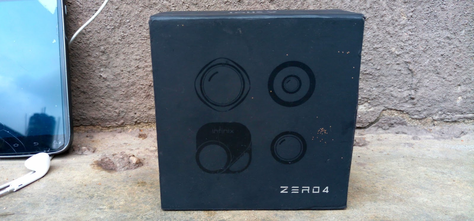 The X-Lens Box In Black Color