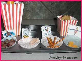 Muffin Tin Monday - Circus