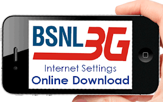 BSNL 3G Settings Download