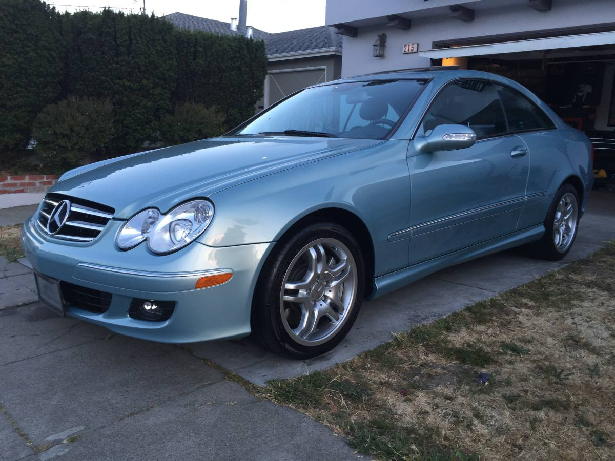 Daily turismo fast coupe 2004 mercedes benz clk55 amg for Mercedes benz clk55 amg