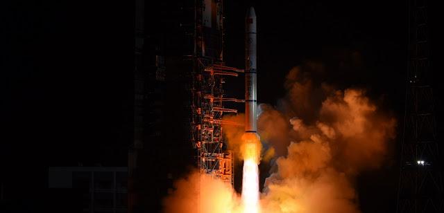 Long March 2C sends Yaogan-30 trio into orbit. Credit: Xinhua/Yang Zhongzhou