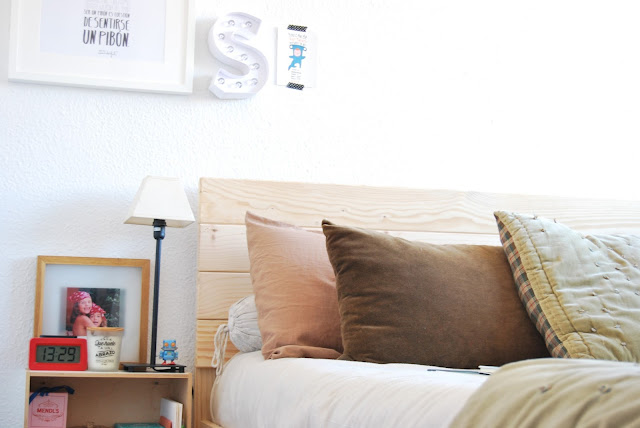 cama estilo nórdico barata Muebles Lufe