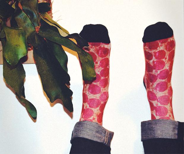 Unisex Pizza Socks