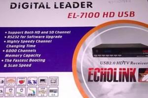 ECHOLINK EL-7100 HD RECEIVER SOFTWARE
