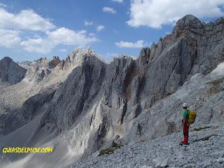 Fernando Calvo , Guia de alta montaña UIAGM Picos de Europa.
