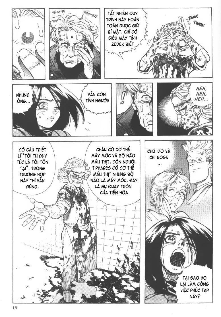 Battle Angel Alita chapter 48 trang 17