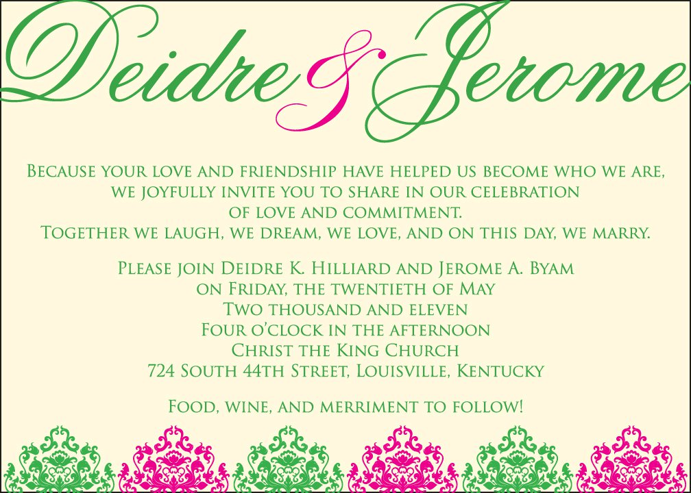 Graphic Design Wedding Invitations: Louisville KY And Southern IN Wedding Directory By