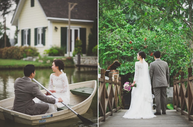 row boat wedding Malaysia