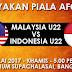 Live Streaming Malaysia B22 vs Indonesia B22 Kelayakan Piala AFC B23