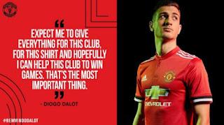 Manchester United Resmi Rekrut Diogo Dalot dari FC Porto