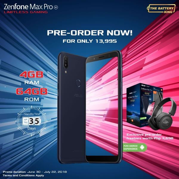 ASUS ZenFone Max Pro 4GB Variant Lands in PH for Php13,995!