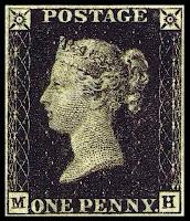 Penny Black - prangko pertama di dunia