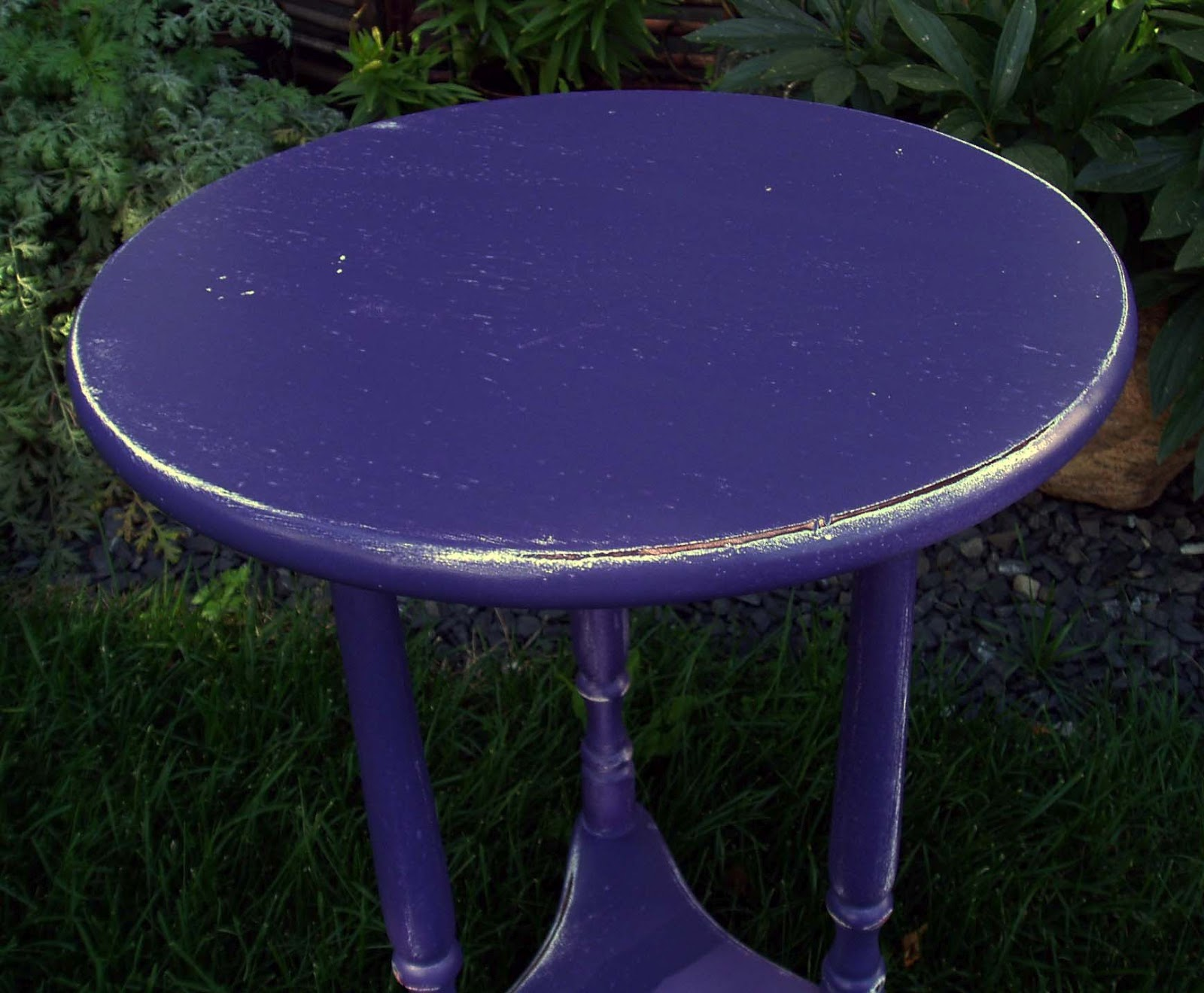 Distressed coffee table for Purple coffee table