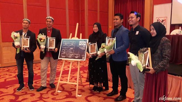 Barisan Ikon MVM 2019 bersama Presiden MVM