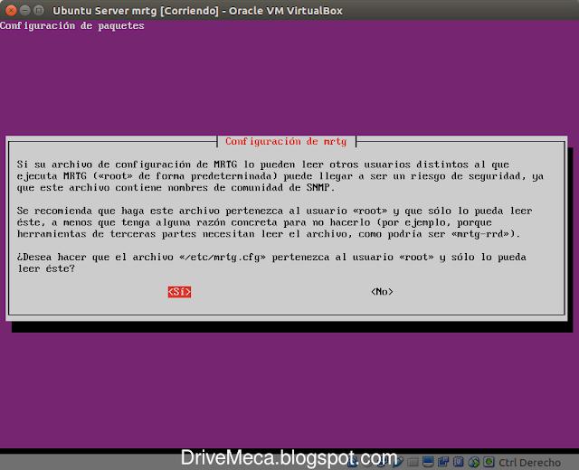 DriveMeca instalando y configurando MRTG en Linux