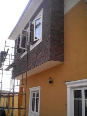 Brick tiles available at farad contractors Nigeria