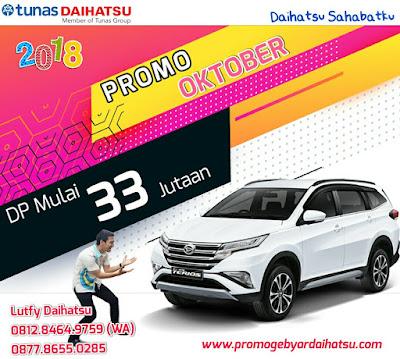 Promo Daihatsu Terios Oktober 2018