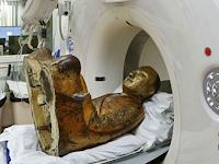 Heboh, Mumi Ditemukan Tersembunyi Dalam Patung Budha Emas