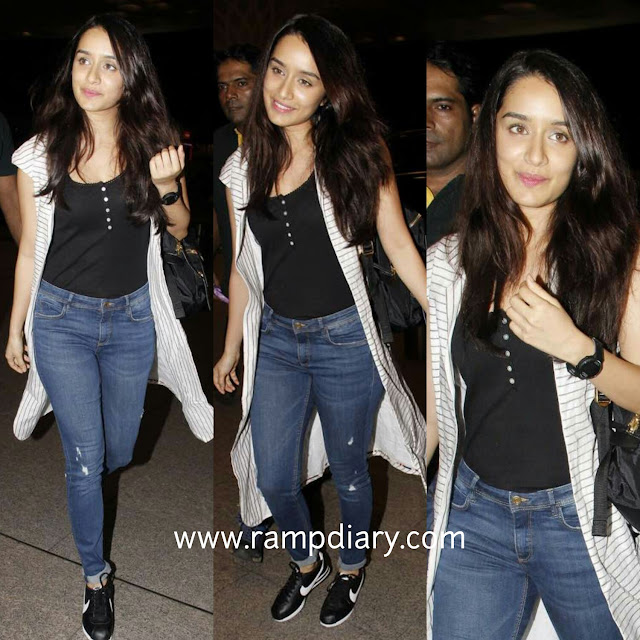 Shraddha Kapoor's Airport Style