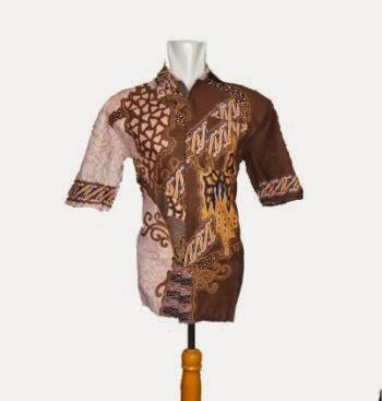 grosir batik pria modern