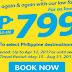 P799 Promo Fare Cebu Pacific April Promo 2017