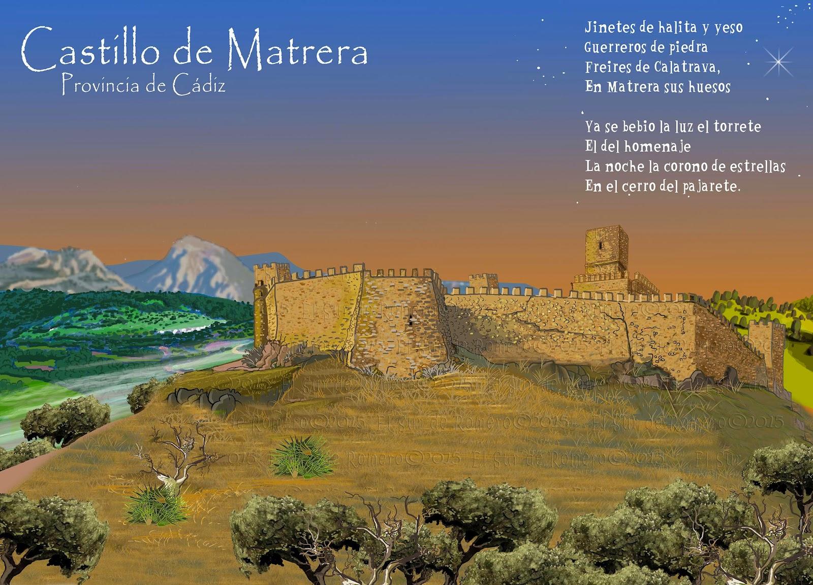 """<img src=""""Castillo de Matrera.jpg"""" alt=""""Castillos de Cádiz en dibujo""""/>"""