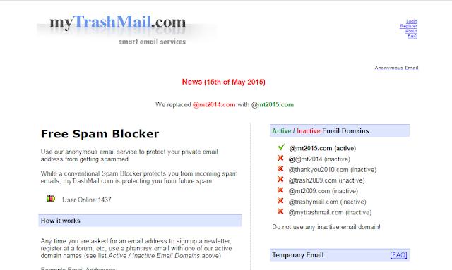 15 Aplikasi Membuat Email Palsu/Sementara Dengan Hitungan Detik