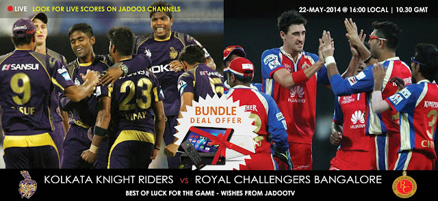 IPL 2018 KKR VS RCB Match
