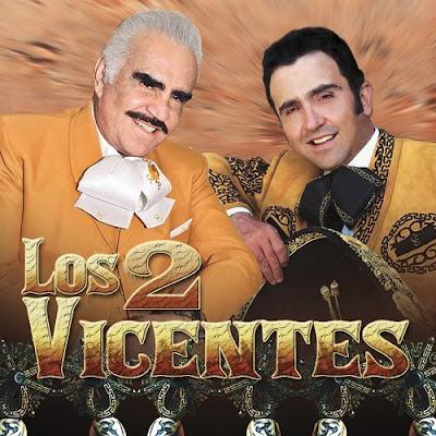 Vicente Fernadez Y Vicente Fernandez Hijo - Los 2 Vicentes (2012) (Album / Disco Oficial)