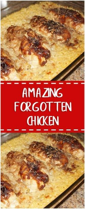 Amazing Forgotten Chicken