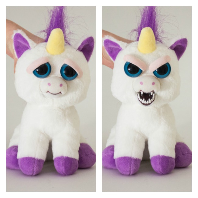 Feisty pets unicorn. Unique Christmas Gifts Under £30 for men, women, teenagers, tweens, boys, girls, kids.
