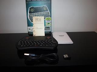 Análise Teclado Rii Mini One i28 4