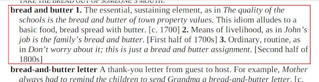 Arti Bread And Butter