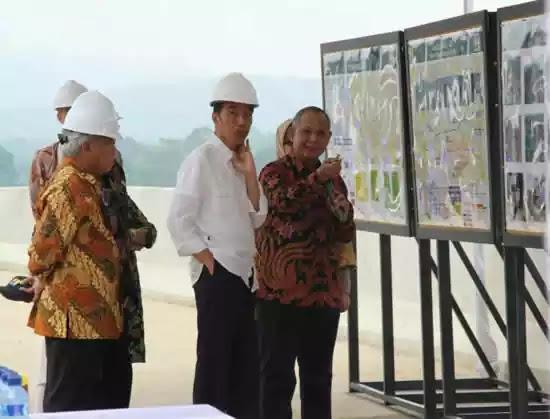 Jokowi  Budi Karya Sumadi tol Bawen