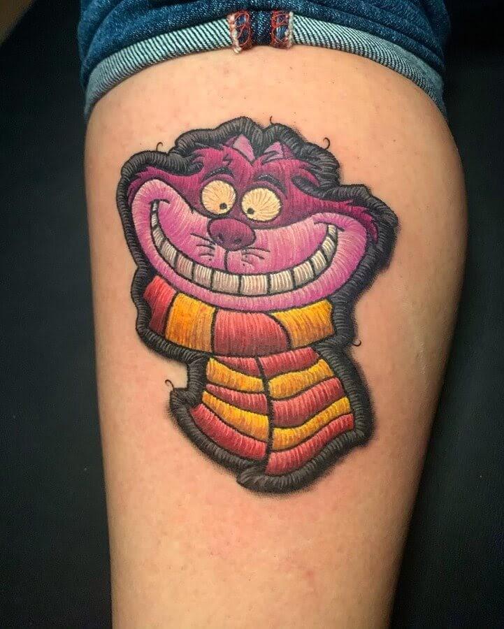 03-Cheshire-Cat-Harry-Potter-Gryffindor-Duda-Lozano-www-designstack-co