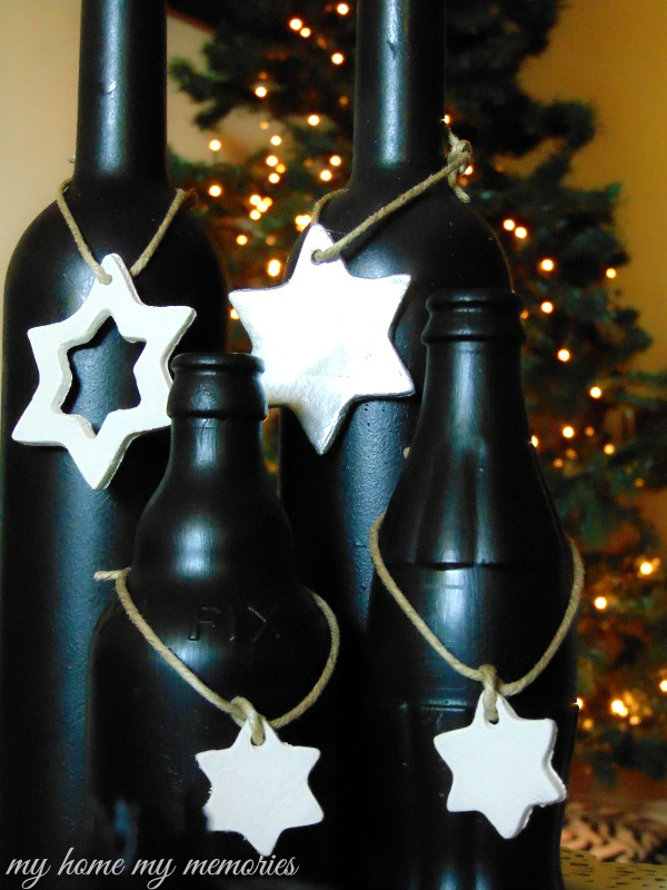 clay-ornaments-and-bottles-painted-with-blackboard-paint