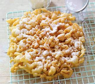 coconut funnel cakes recipe