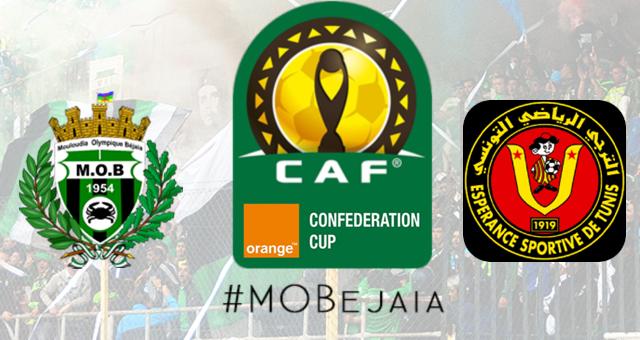 CAF : MOBejaia - ESTunis programmation et retransmission !