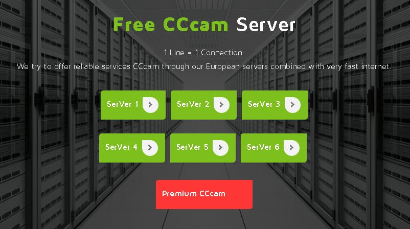 generator bluecamd cccam 6 servers 15 10 2017 - Hacksat Team
