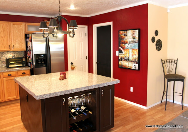 Behr cherry cobbler kitchen