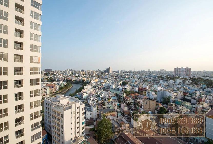 Bán căn hộ 3PN The Prince - view kênh Nhiêu Lộc Thị Nghè