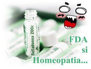 recomandari fda medicamente homeopate pareri negative