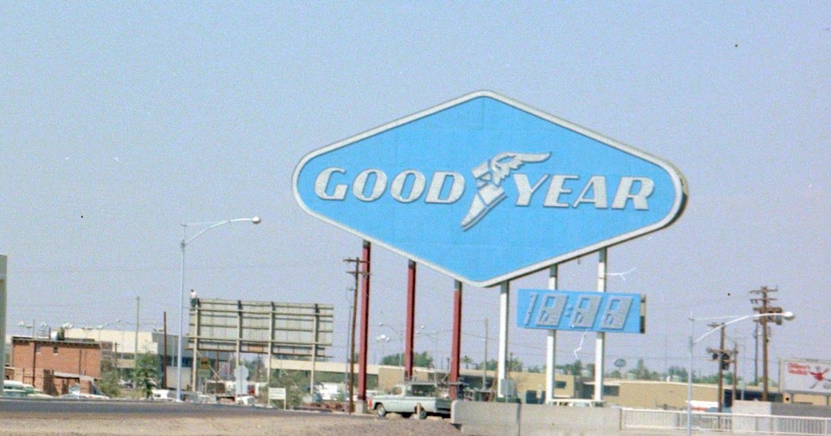 Used Cars Phoenix Az >> History Adventuring: The importance of Goodyear to the history of Phoenix