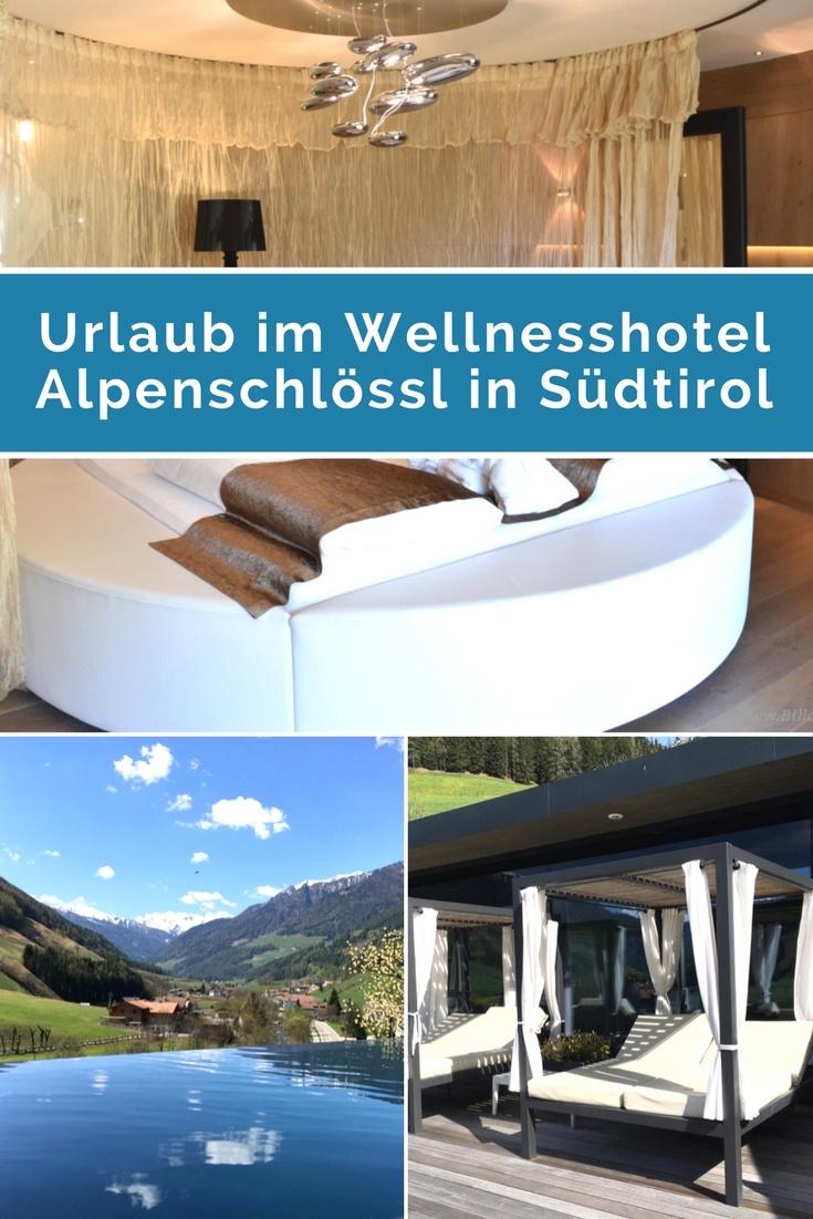 Urlaub im Wellnesshotel Alpenschlösl in Südtirol