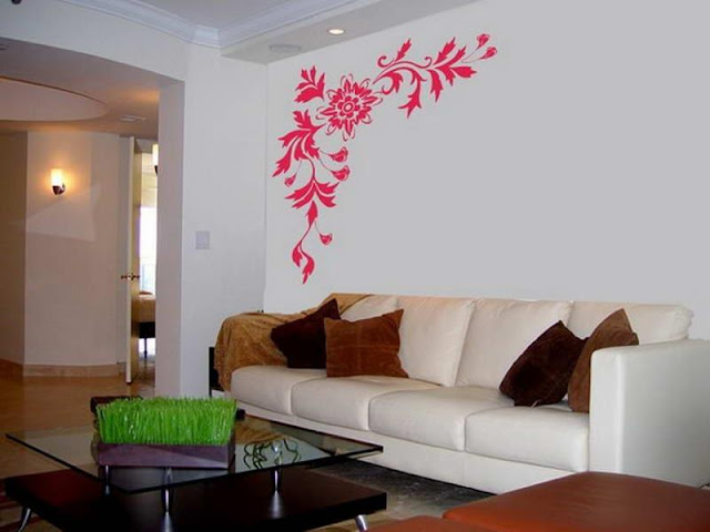 Wall Living Room with Artistic Design Wall Living Room with Artistic Design pink and grey nursery Ideas for small room decor