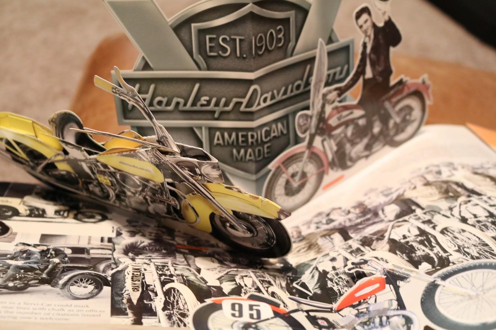 1970 Harley Davidson Evel Knievel Tribute: OldMotoDude: Harley-Davidson Pop-Up Book