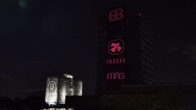 UNAM conmemora el 50 aniversario del movimiento del 68