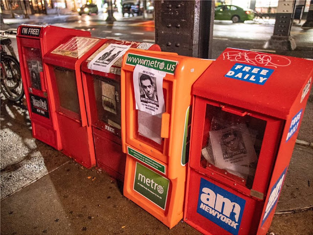 Ανεπιθύμητος κάποιος Τσίπρας που εμφανίζεται ως πρωθυπουργός χωράς - Ομογενείς γέμισαν τη Νέα Υόρκη με αφίσες