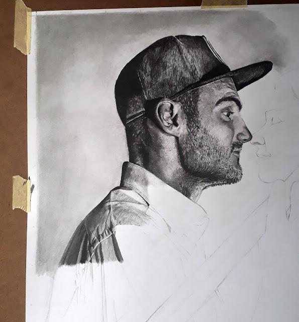 Artist Ben Heine Portrait by Olamide Ogunade (OliscoArt)