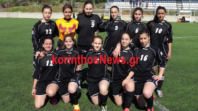 Νίκησαν οι Μαθήτριες του 2ου ΓΕΛ Άργους το ΓΕΛ Ξυλοκάστρου στο ποδόσφαιρο